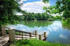 Красивый парк Стоковые Изображения RF
