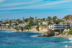 Красивый пейзаж вокруг пляжа Laguna стоковое изображение