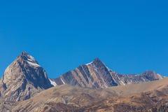 Красивый пейзаж в зоне Annapurna, Гималаи, Непал стоковая фотография