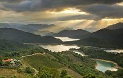 Красивый пейзаж в Тайване стоковое изображение