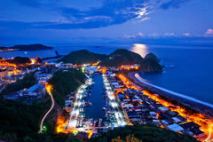 Красивый пейзаж в Тайване Стоковое Изображение RF