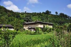 Красивый пейзаж в Фуцзяне Стоковое Изображение RF