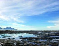 Красивый пейзаж в Kaikoura, Новой Зеландии стоковое фото rf