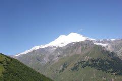Красивый пейзаж гор Кавказа Стоковое Изображение