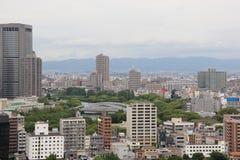 Красивый пейзаж Осака стоковая фотография