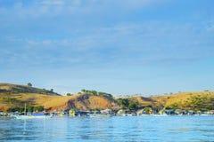 Красивый пейзаж острова Kanawa стоковые фото