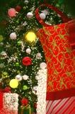 Красивый пейзаж рождества Стоковое фото RF