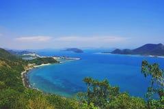 Красивый пейзаж Gulf of Thailand стоковое изображение rf