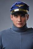 красивый пилот Стоковое Фото