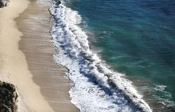 Красивый пляж, большое Sur стоковое изображение