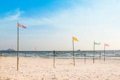 Красивый пляж на Таиланде стоковое изображение rf
