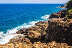 Красивый пляж Шри-Ланки стоковое фото