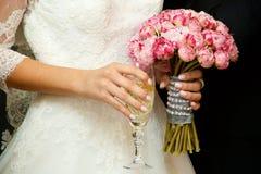 Красивый покрашенный wedding букет Стоковые Фото