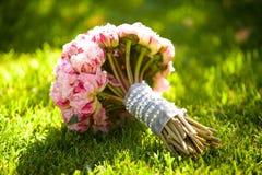 Красивый покрашенный wedding букет Стоковое Изображение RF