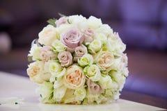 Красивый покрашенный wedding букет Стоковые Фотографии RF