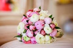 Красивый покрашенный wedding букет Стоковое Изображение