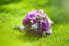 Красивый покрашенный wedding букет Стоковое фото RF