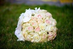 Красивый покрашенный wedding букет Стоковое Фото