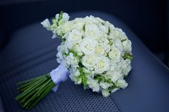 Красивый покрашенный wedding букет Стоковые Изображения