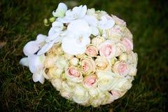 Красивый покрашенный wedding букет Стоковая Фотография RF