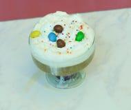 Красивый порошок пены кофе Стоковые Фото
