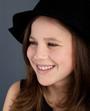 Красивый портрет девушки Стоковое Фото