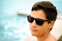 красивый портрет человека ультрамодный Стоковая Фотография RF