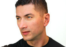 красивый портрет человека стоковые фотографии rf