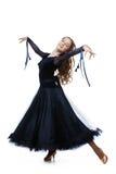 Красивый подростковый танцор бального зала Стоковые Фото