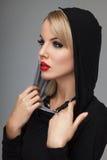 Красивый представлять блондинкы Стоковая Фотография