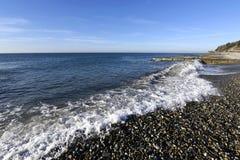 Красивый прибой моря Стоковые Изображения