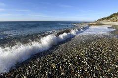 Красивый прибой моря Стоковое Фото