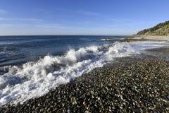 Красивый прибой моря Стоковое фото RF