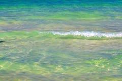 Красивый прибой моря Стоковые Фото