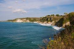Красивый прибрежный взгляд стоковая фотография rf