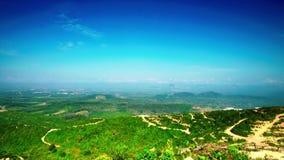 Красивый промежуток времени на холме в севере Малайзии видеоматериал