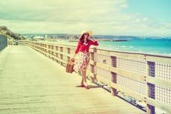 Красивый путешественник Стоковая Фотография RF