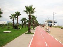 Красивый путь велосипеда Стоковое Изображение RF