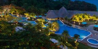 Красивый пляжный комплекс в Панаме Стоковое Фото