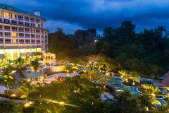 Красивый пляжный комплекс в Панаме Стоковая Фотография