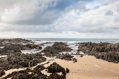 Красивый пляж в накидке Conran, Австралии стоковое фото