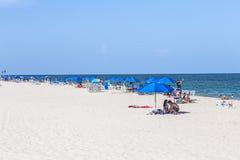 Красивый пляж в парке Crandon стоковое фото rf