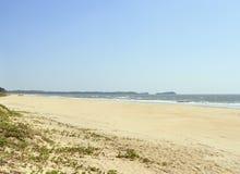 Красивый пляж в тропике стоковое фото