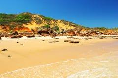 Красивый пляж, западная Австралия Стоковые Изображения RF