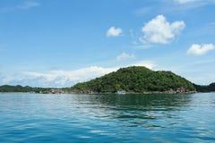 Красивый пляж на острове Phu Quoc, Вьетнаме Стоковые Изображения