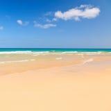 Красивый пляж океана Стоковое Изображение RF