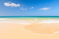Красивый пляж океана Стоковые Изображения
