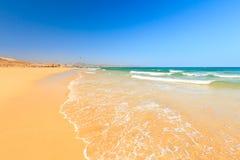 Красивый пляж океана Стоковое фото RF