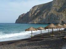 Красивый пляж отработанной формовочной смеси острова Стоковые Изображения RF