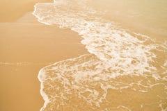 Красивый пляж песка Стоковое фото RF